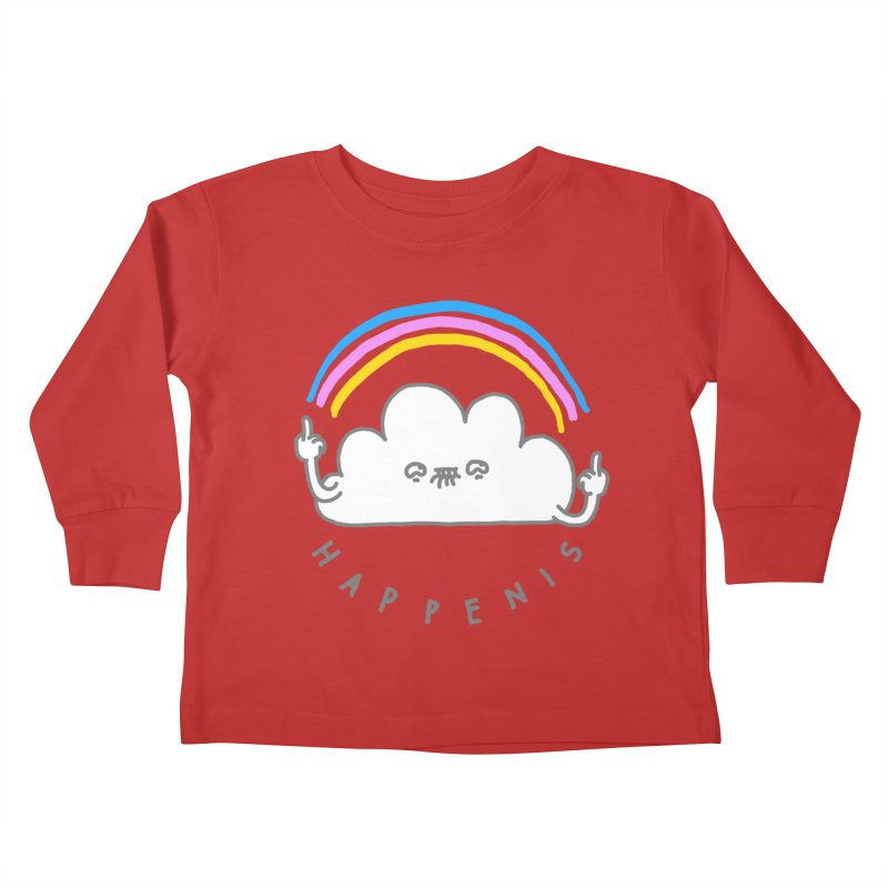 Happenis Kids Toddler Longsleeve T-Shirt by Vó Maria's Artist Shop