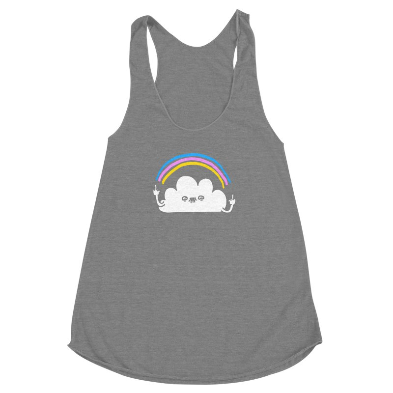 Happenis Women's Racerback Triblend Tank by Vó Maria's Artist Shop