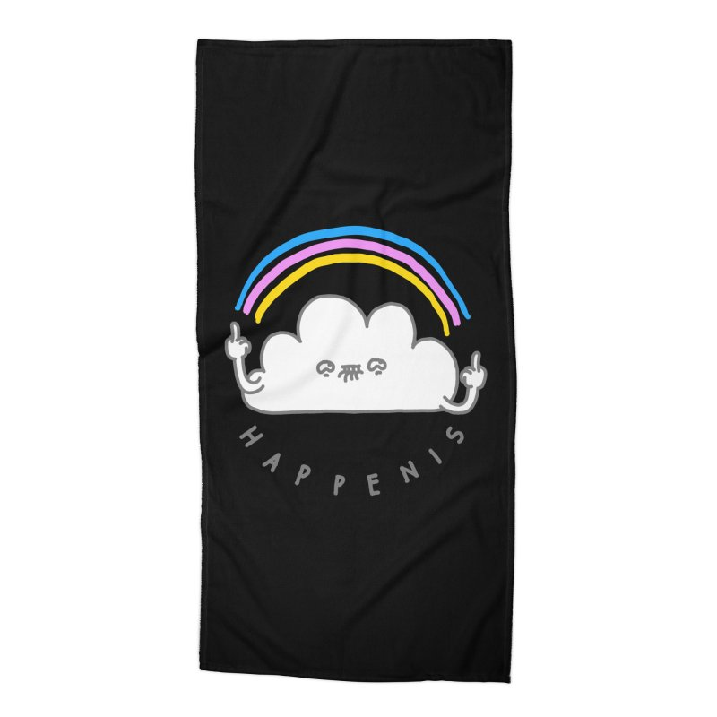 Happenis Accessories Beach Towel by Vó Maria's Artist Shop