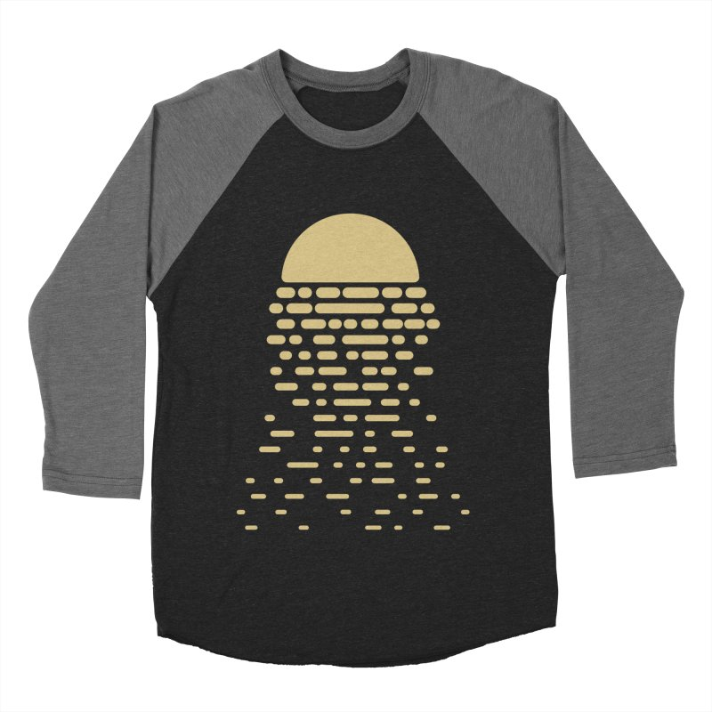 Moonshine Women's Baseball Triblend T-Shirt by Vó Maria's Artist Shop