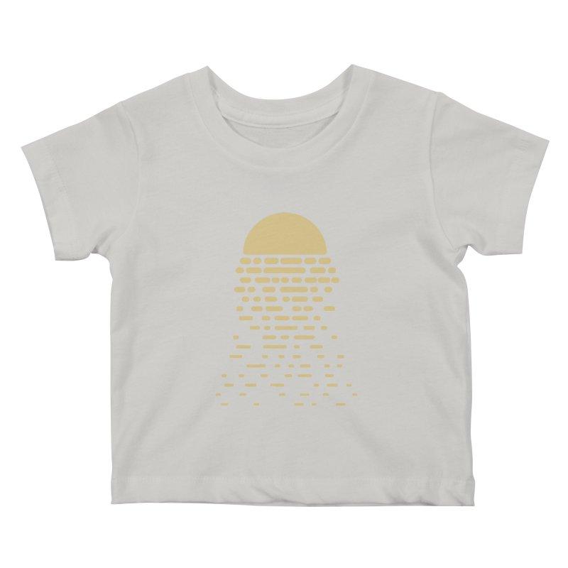 Moonshine Kids Baby T-Shirt by Vó Maria's Artist Shop