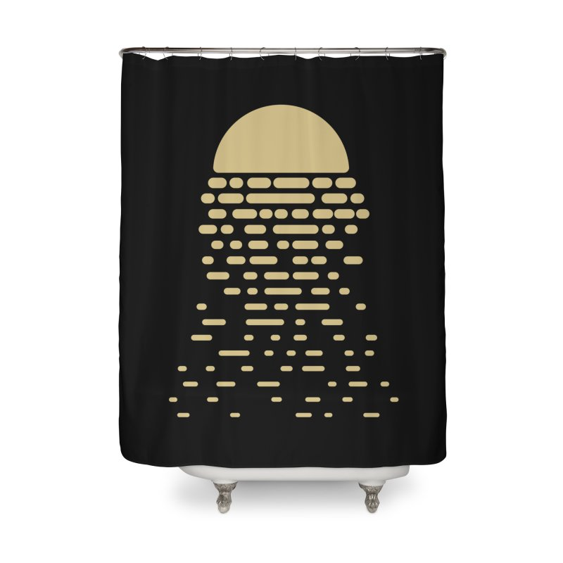 Moonshine Home Shower Curtain by Vó Maria's Artist Shop