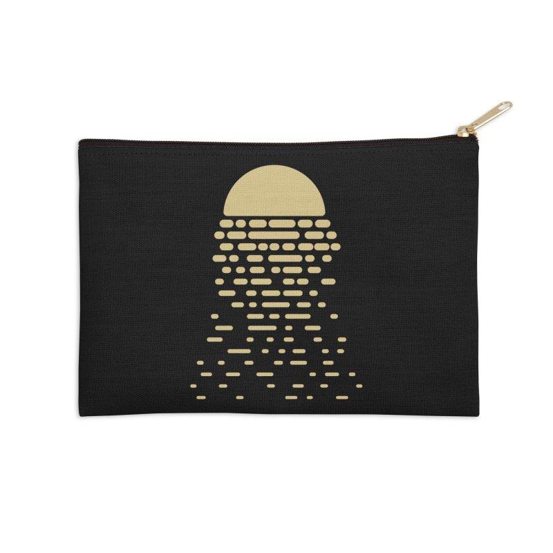 Moonshine Accessories Zip Pouch by Vó Maria's Artist Shop