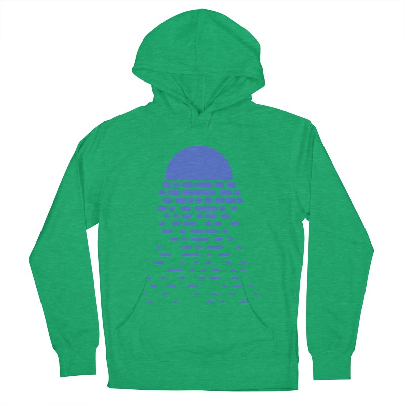Moonlight Women's French Terry Pullover Hoody by Vó Maria's Artist Shop