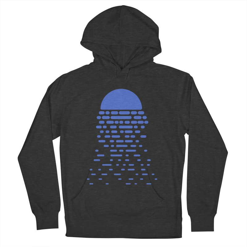 Moonlight Men's French Terry Pullover Hoody by Vó Maria's Artist Shop