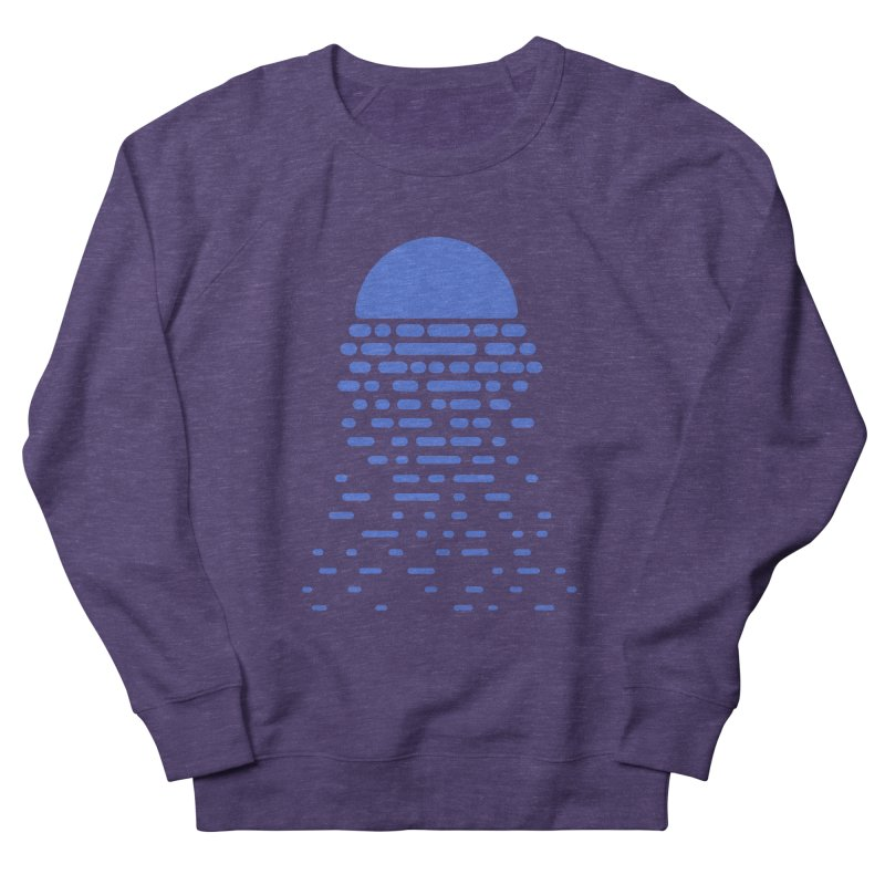 Moonlight Men's French Terry Sweatshirt by Vó Maria's Artist Shop
