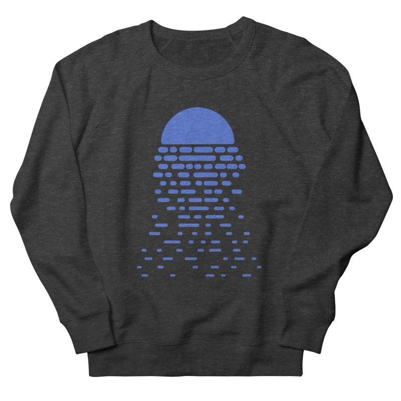 Moonlight Men's French Terry Sweatshirt by Vó Maria's Artist Shop