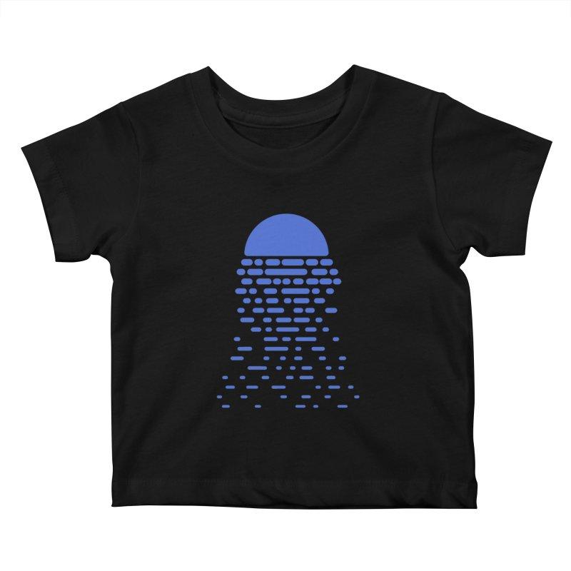 Moonlight Kids Baby T-Shirt by Vó Maria's Artist Shop