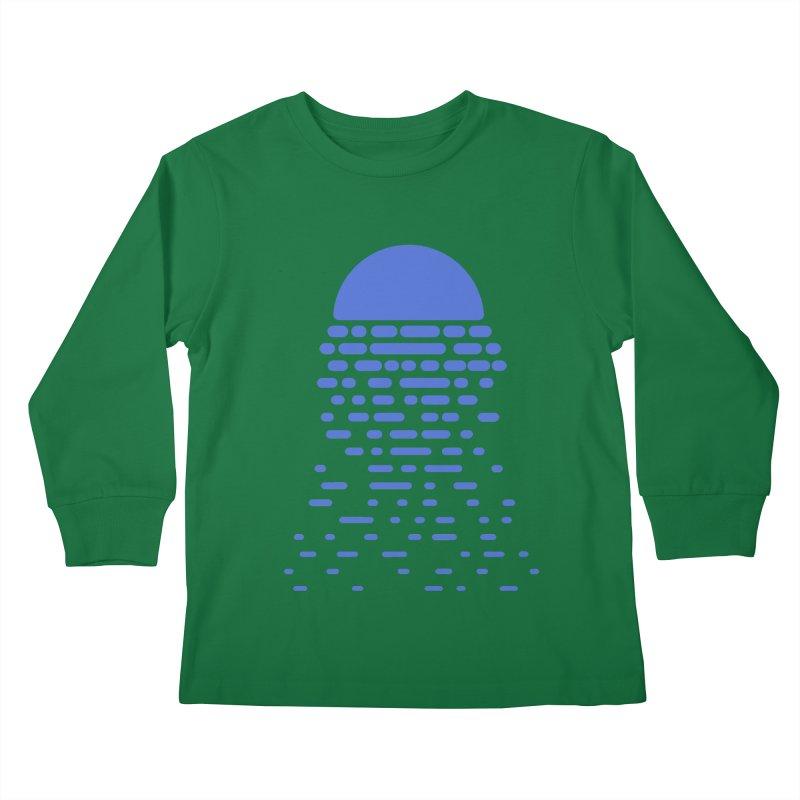 Moonlight Kids Longsleeve T-Shirt by Vó Maria's Artist Shop