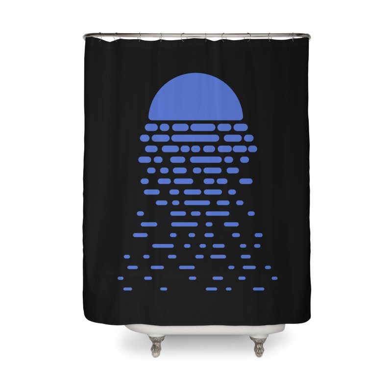 Moonlight Home Shower Curtain by Vó Maria's Artist Shop
