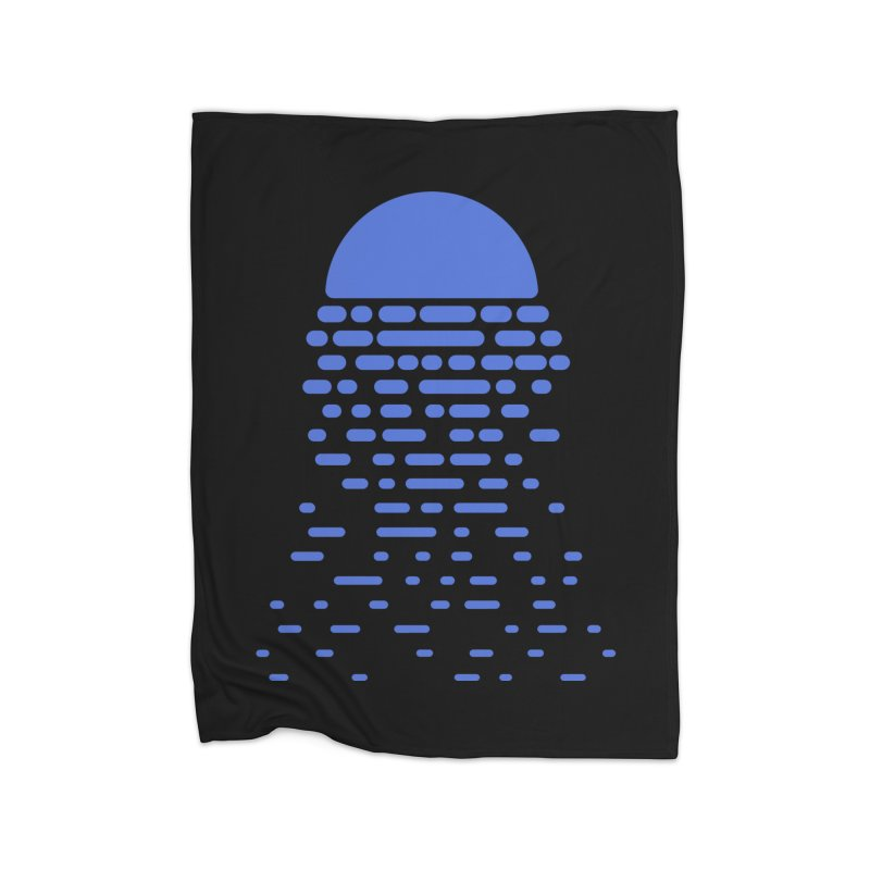 Moonlight Home Blanket by Vó Maria's Artist Shop