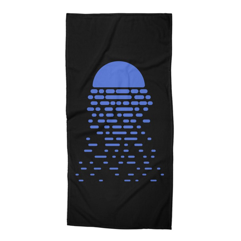 Moonlight Accessories Beach Towel by Vó Maria's Artist Shop