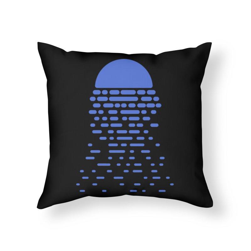 Moonlight Home Throw Pillow by Vó Maria's Artist Shop