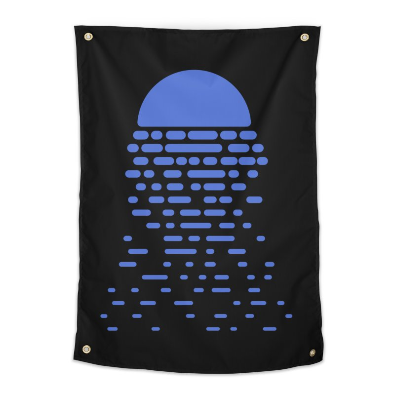 Moonlight Home Tapestry by Vó Maria's Artist Shop