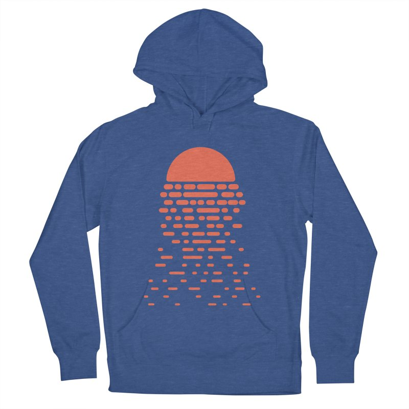 Sunset Men's French Terry Pullover Hoody by Vó Maria's Artist Shop