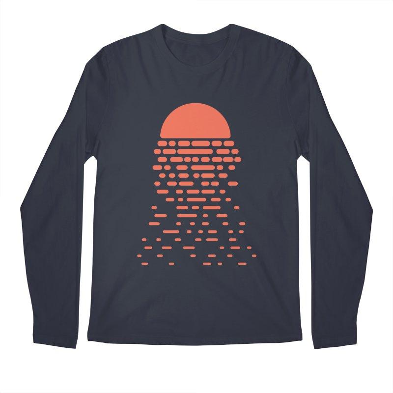 Sunset Men's Longsleeve T-Shirt by Vó Maria's Artist Shop