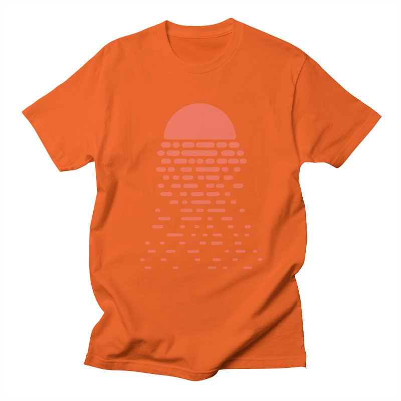 Sunset Men's Regular T-Shirt by Vó Maria's Artist Shop