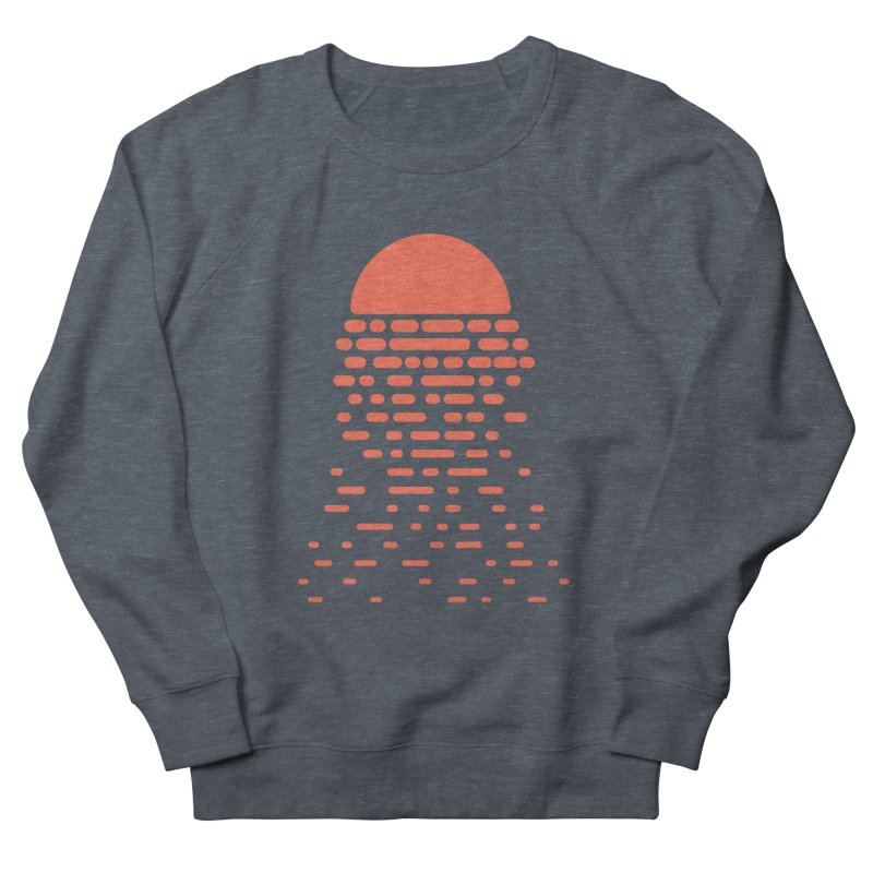 Sunset Women's French Terry Sweatshirt by Vó Maria's Artist Shop