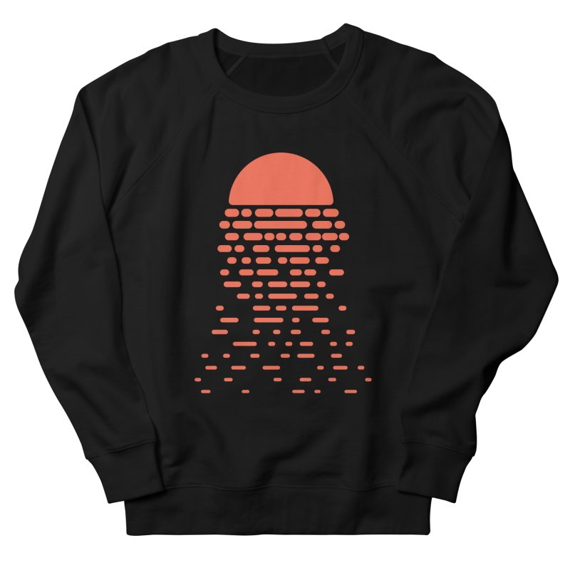 Sunset Men's French Terry Sweatshirt by Vó Maria's Artist Shop