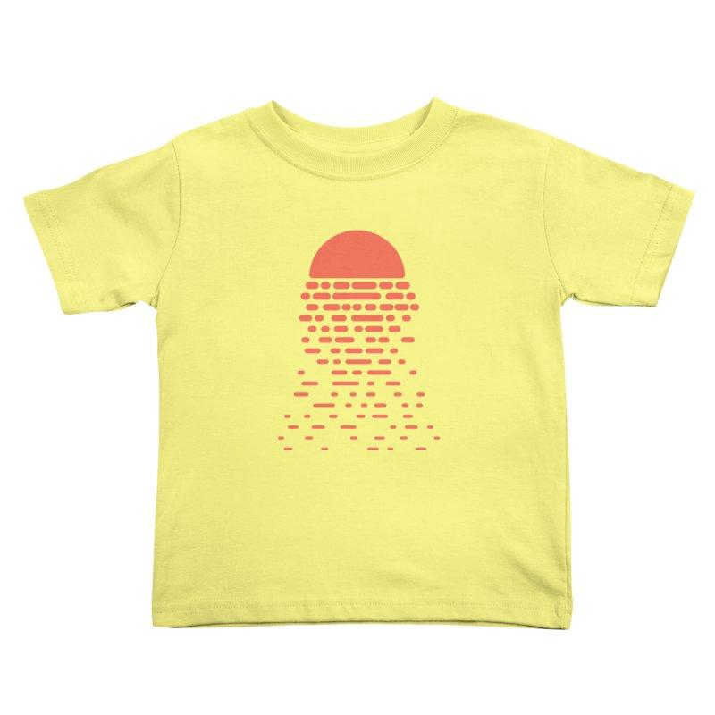 Sunset Kids Toddler T-Shirt by Vó Maria's Artist Shop