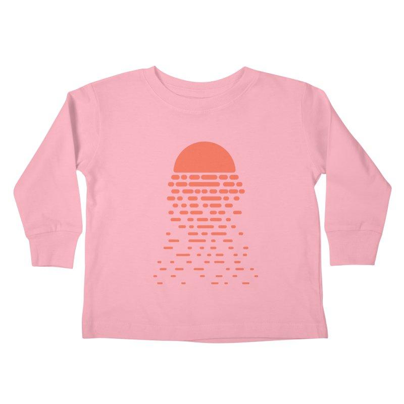 Sunset Kids Toddler Longsleeve T-Shirt by Vó Maria's Artist Shop