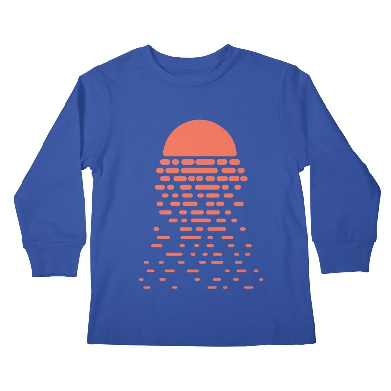 Sunset Kids Longsleeve T-Shirt by Vó Maria's Artist Shop