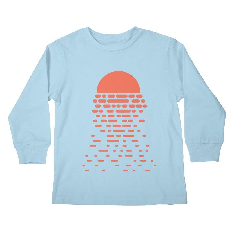 Sunset Kids Longsleeve T-Shirt by Vó Maria's Artist Shop