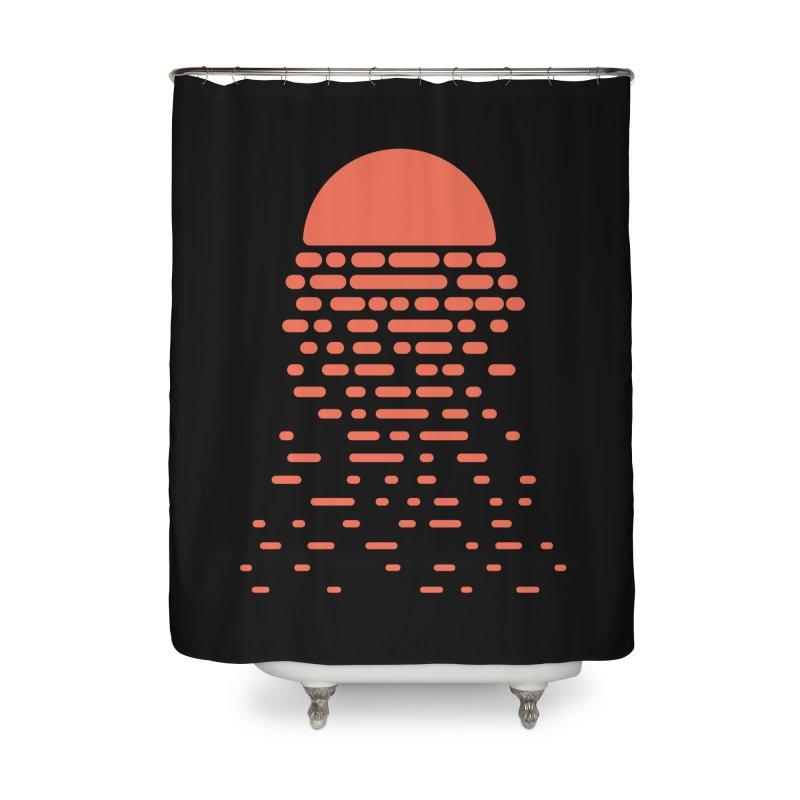 Sunset Home Shower Curtain by Vó Maria's Artist Shop