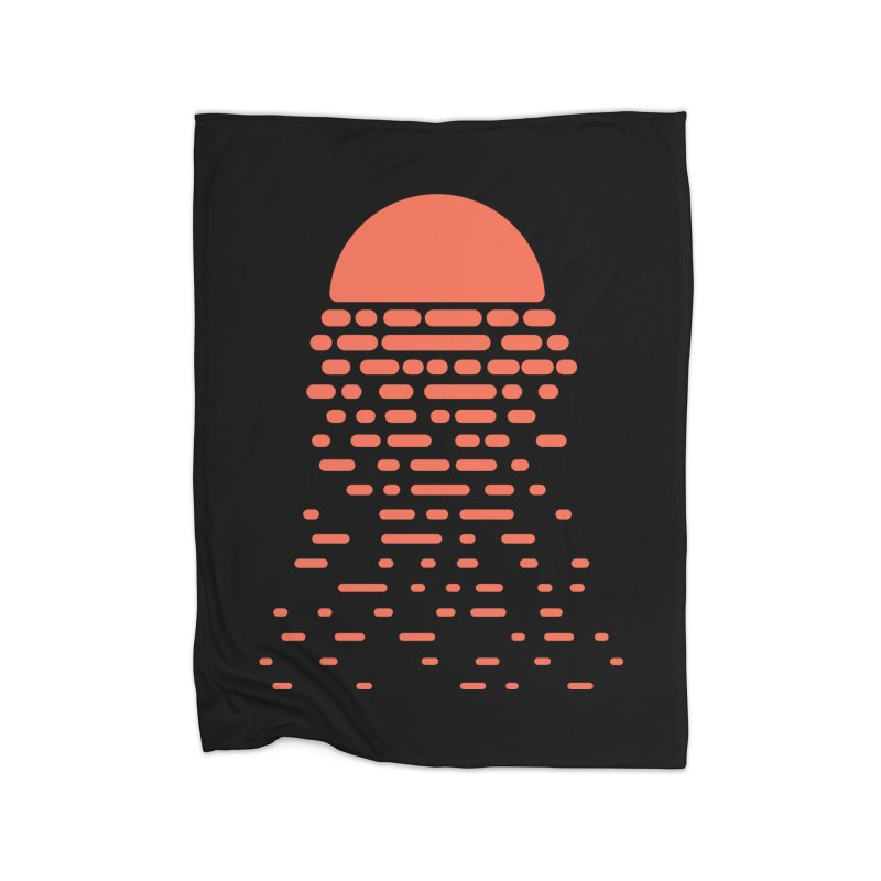 Sunset Home Blanket by Vó Maria's Artist Shop