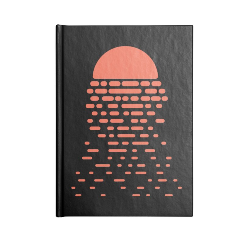 Sunset Accessories Notebook by Vó Maria's Artist Shop