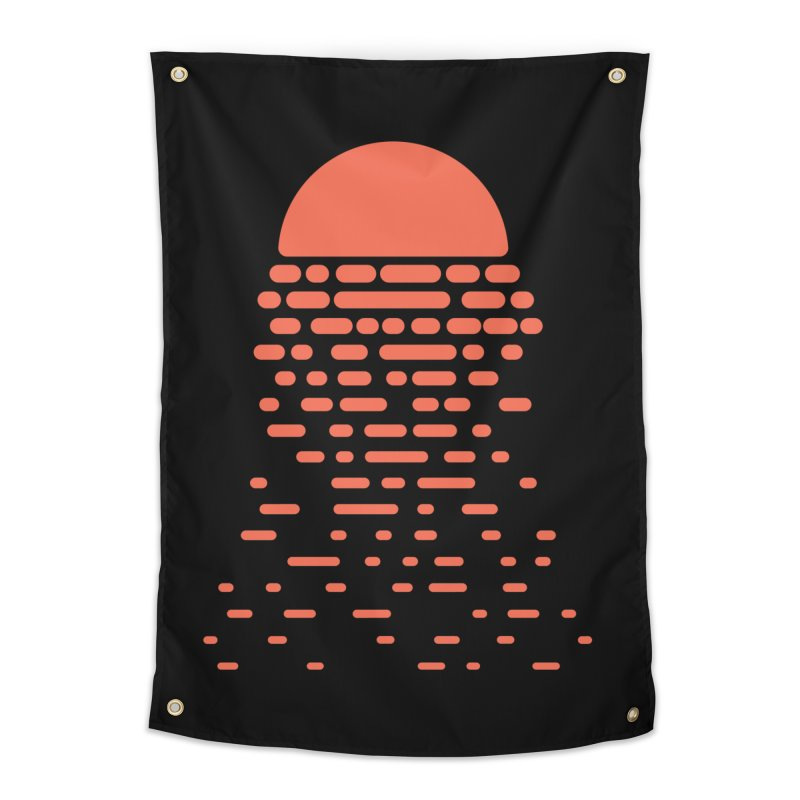 Sunset Home Tapestry by Vó Maria's Artist Shop