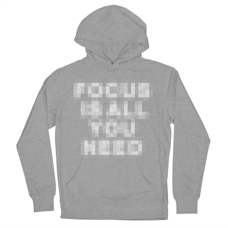 Focus Men's Pullover Hoody by Vó Maria's Artist Shop