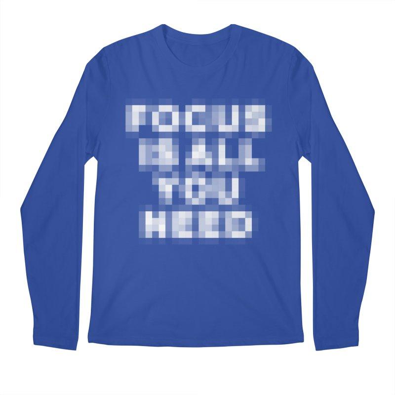 Focus Men's Longsleeve T-Shirt by Vó Maria's Artist Shop