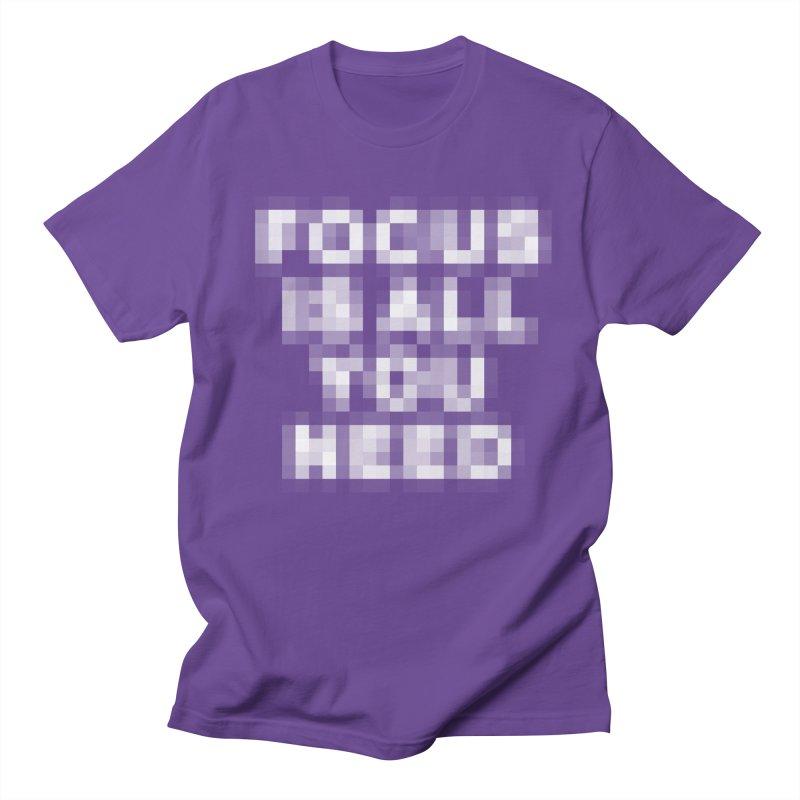 Focus Women's Unisex T-Shirt by Vó Maria's Artist Shop