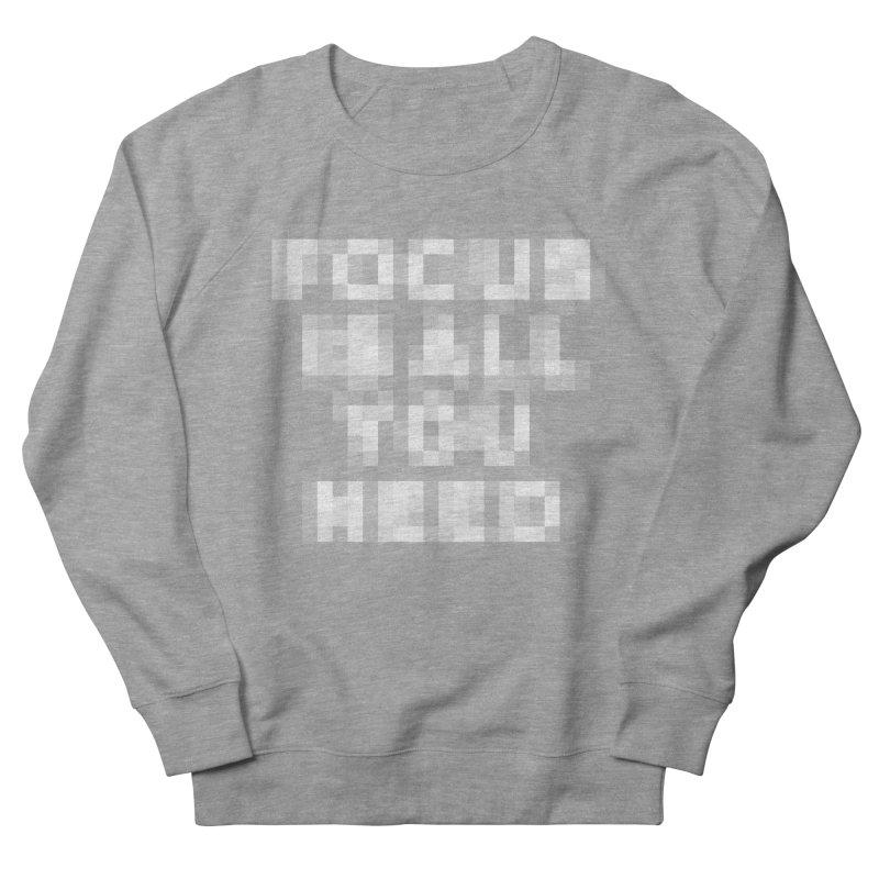 Focus Men's Sweatshirt by Vó Maria's Artist Shop