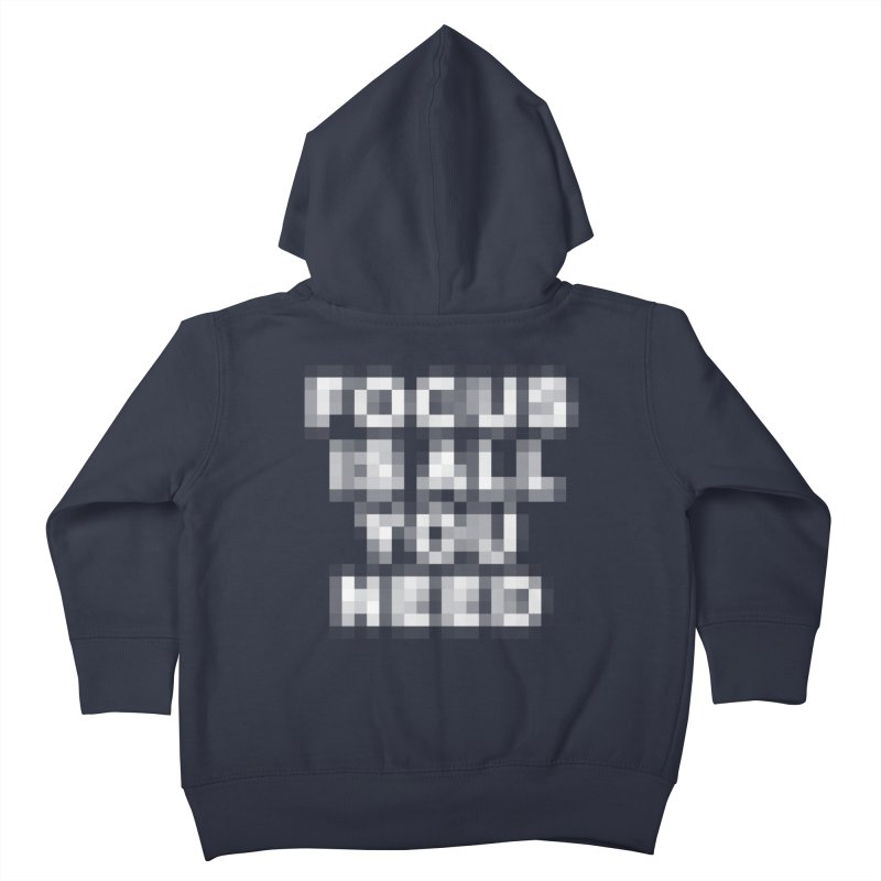 Focus Kids Toddler Zip-Up Hoody by Vó Maria's Artist Shop
