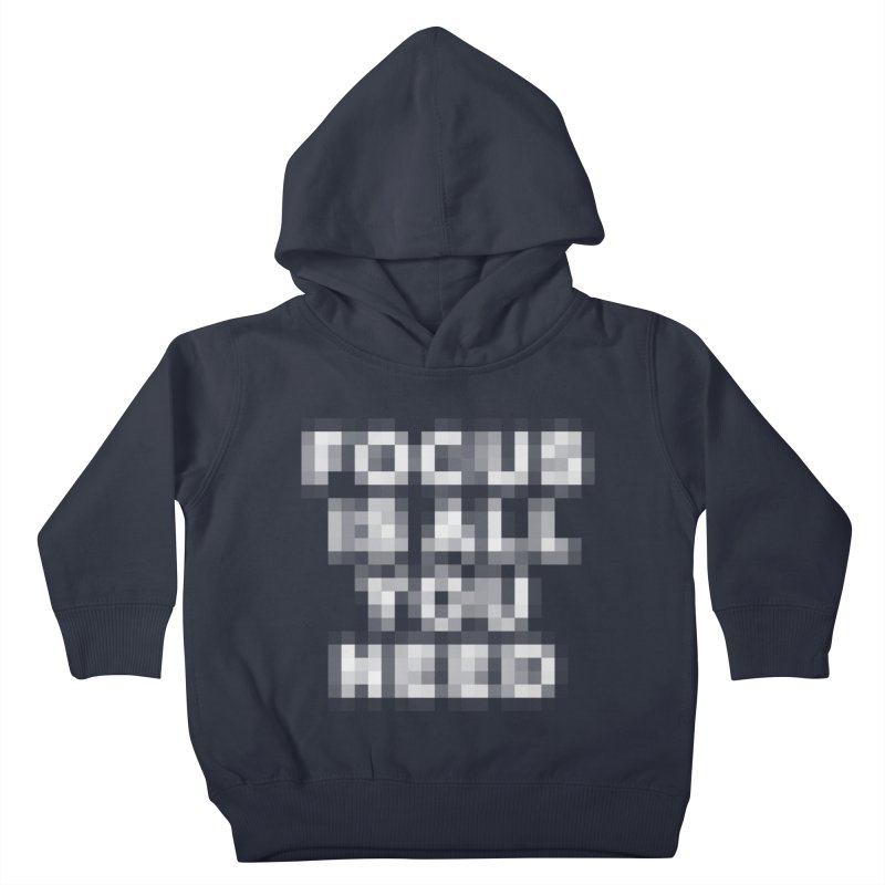 Focus Kids Toddler Pullover Hoody by Vó Maria's Artist Shop
