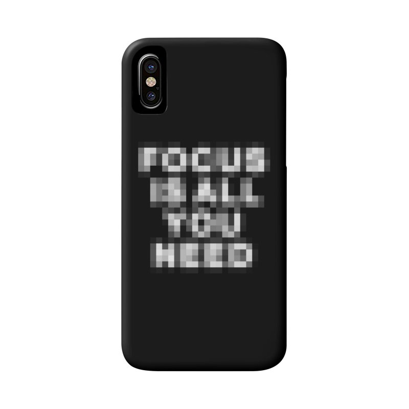Focus Accessories Phone Case by Vó Maria's Artist Shop