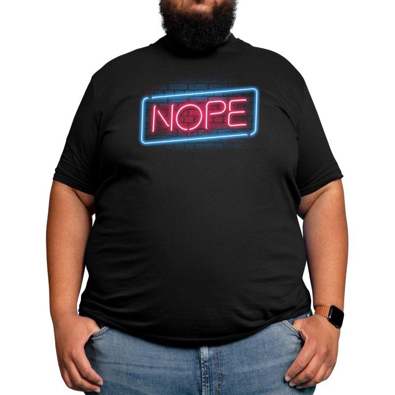 Nope Men's T-Shirt by Vó Maria's Artist Shop