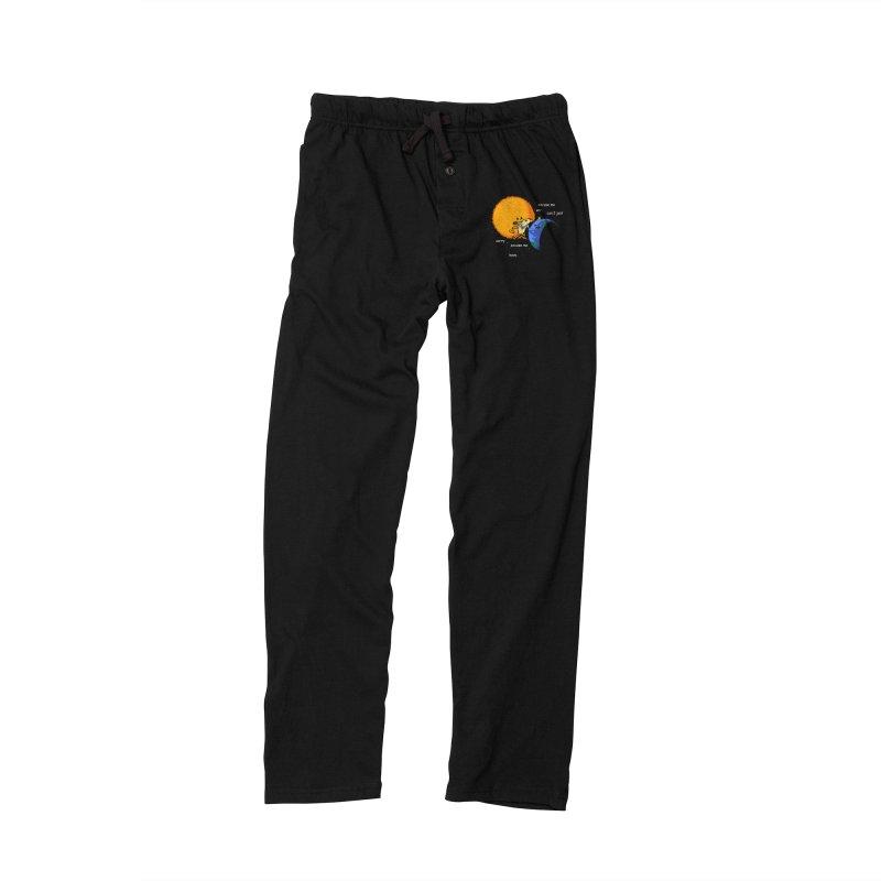 Total Solar Eclipse - Excuse Me Men's Lounge Pants by Vó Maria's Artist Shop