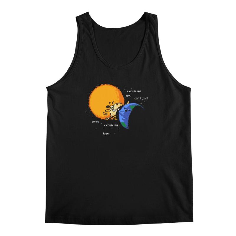 Total Solar Eclipse - Excuse Me Men's Tank by Vó Maria's Artist Shop
