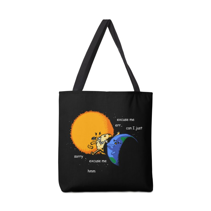 Total Solar Eclipse - Excuse Me Accessories Bag by Vó Maria's Artist Shop