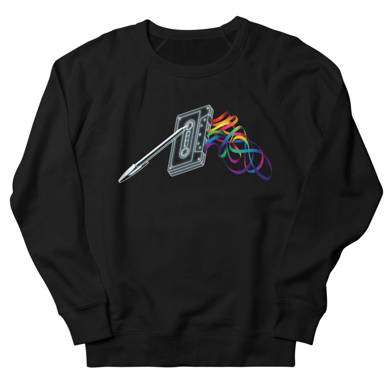 Mixtape Men's French Terry Sweatshirt by Vó Maria's Artist Shop