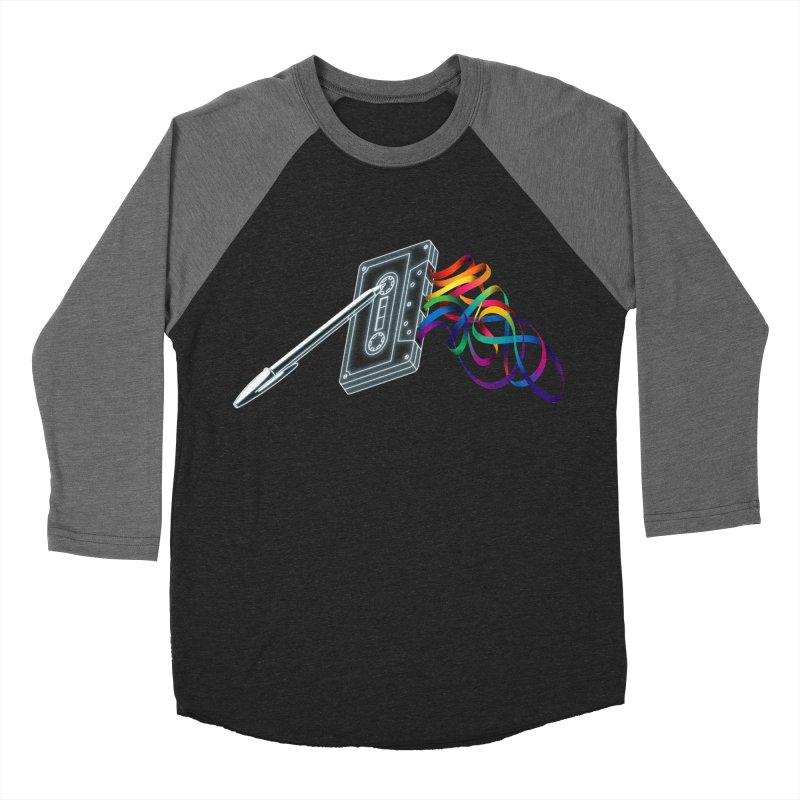 Mixtape Men's Baseball Triblend T-Shirt by Vó Maria's Artist Shop