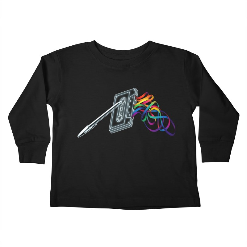Mixtape Kids Toddler Longsleeve T-Shirt by Vó Maria's Artist Shop