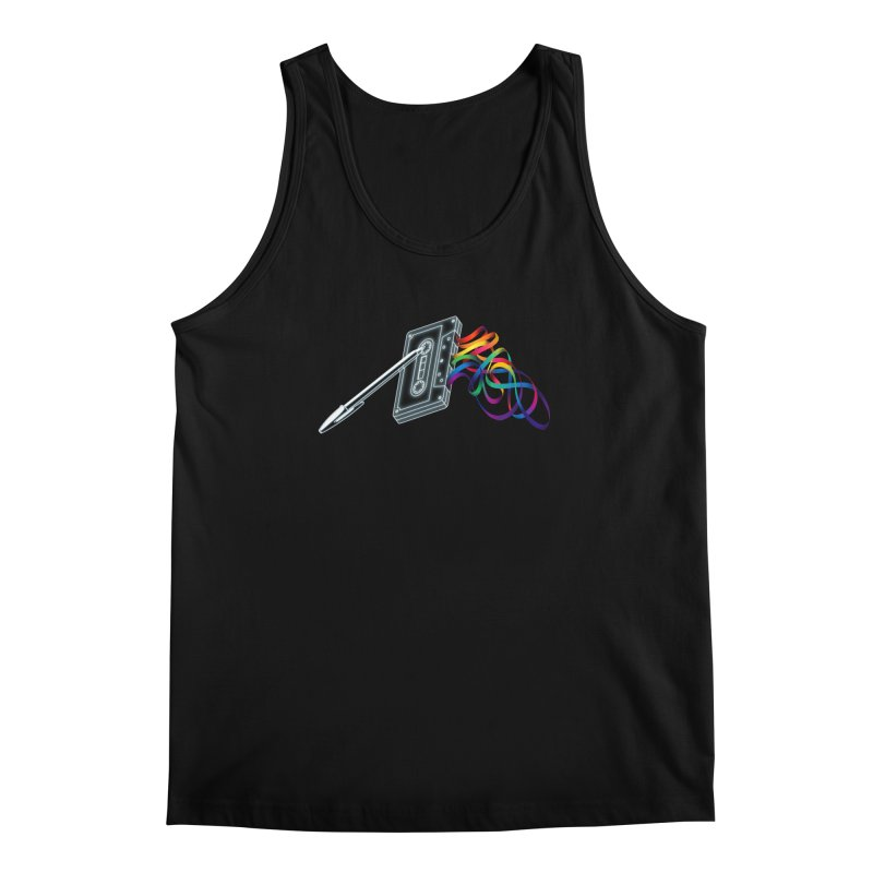 Mixtape Men's Regular Tank by Vó Maria's Artist Shop