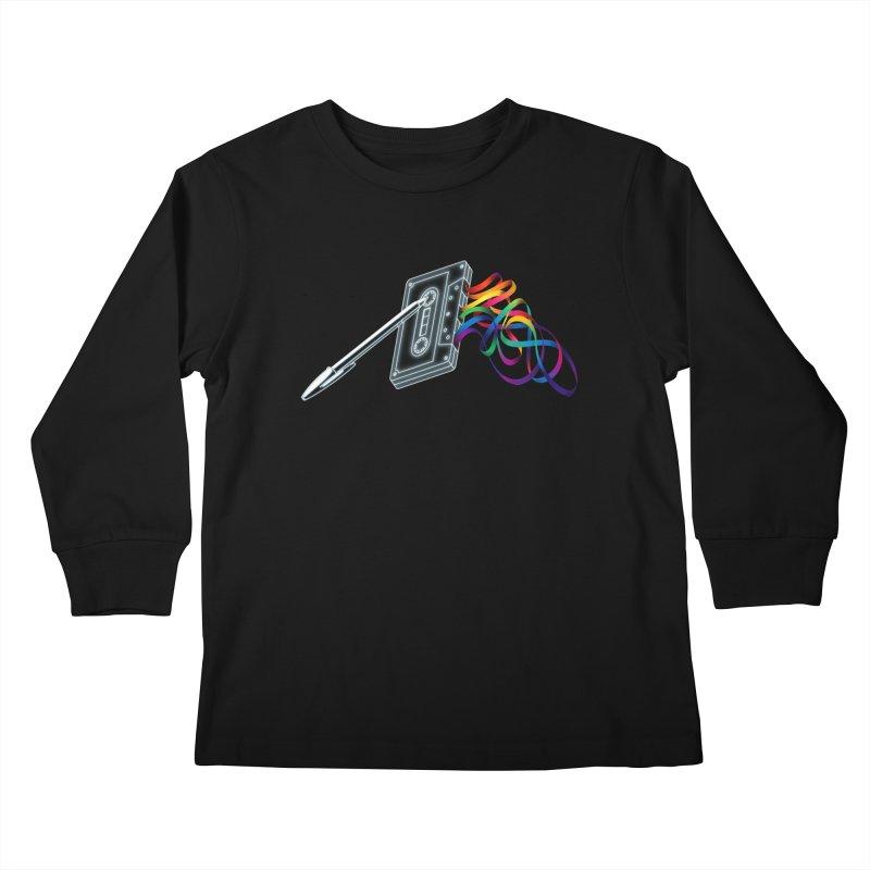 Mixtape Kids Longsleeve T-Shirt by Vó Maria's Artist Shop