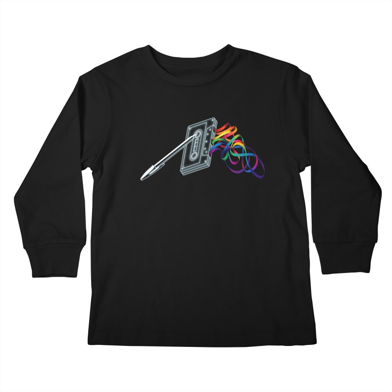 Mixtape Kids Longsleeve T-Shirt by Vó Maria's Artist Shop