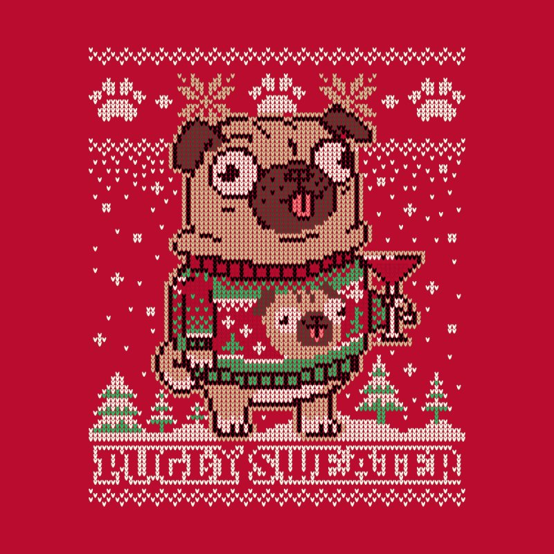 Pugly Sweater Home Mounted Acrylic Print by Vó Maria's Artist Shop