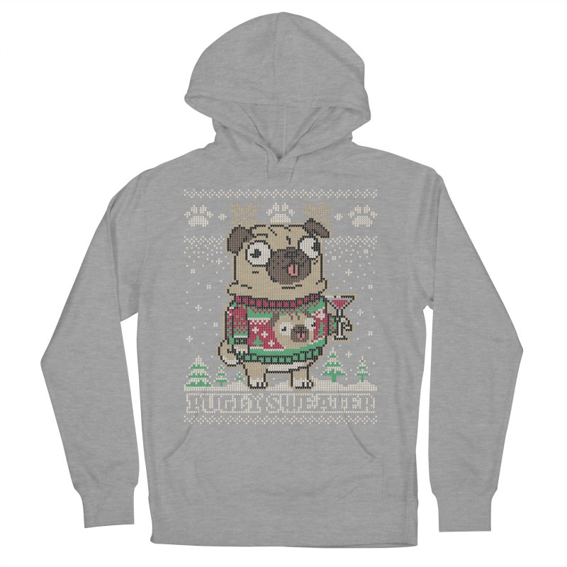 Pugly Sweater Women's French Terry Pullover Hoody by Vó Maria's Artist Shop